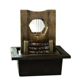 BRAND NEW San Miguel Edgewater Tabletop Water Fountain - GRE