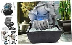 DOMICA Indoor USB Relaxation Desktop/Tabletop Fountain with