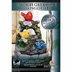 Newport Coast Collections Feathered Friends LED Fountain Ada
