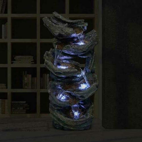"""41"""" Waterfall LED Stacked"""