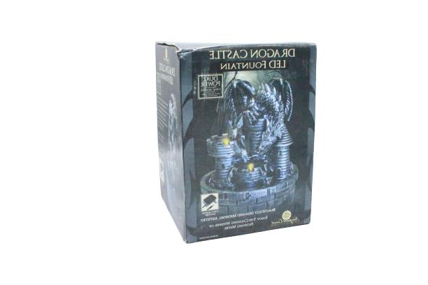 coast collection medieval artistry dragon castle led