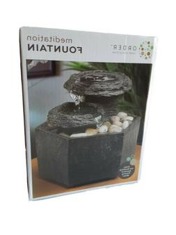 Meditation Fountain Cordless Order Home Collection Soothing
