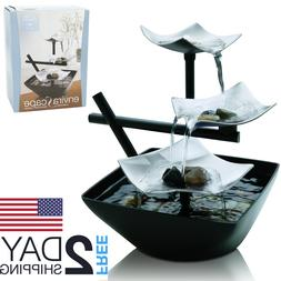 Coffee Table Centerpiece Silver Springs Indoor Relaxation Fo